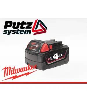 MILWAUKEE AKUMULATOR M18B4 Red 4,0 Ah Bateria
