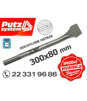 MILWAUKEE DŁUTO do usuwania płytek 300/80 SDS-Max