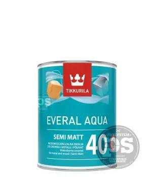 EVERAL 40 Semi MATT 0,9L Tikkurila emalia do drewna